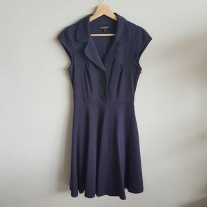 Betsey Johnson Vintage 90s Pinstripe Dress Size 8…